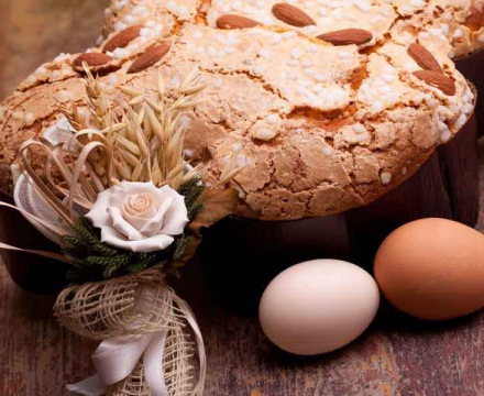 Colomba And Eggs